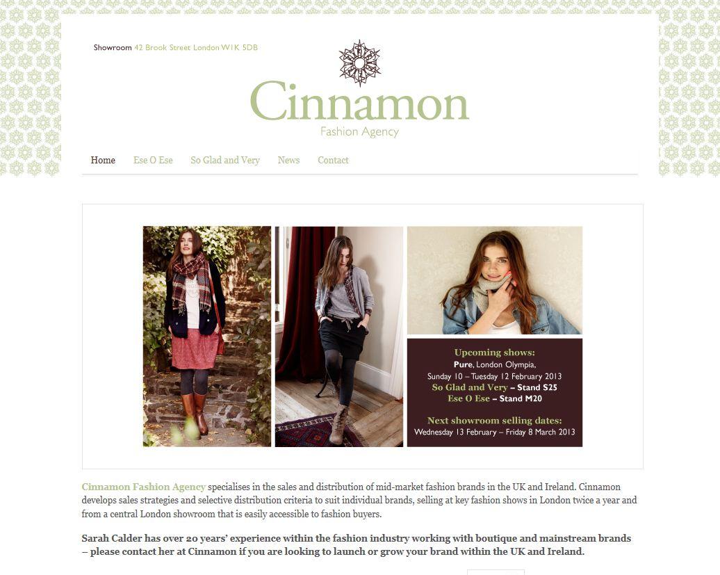 Claire Baker Client Profile Cinnamon Fashion Agency